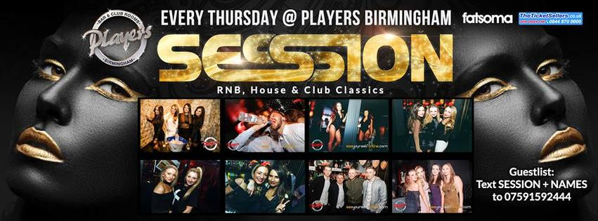 Session Thursday 12th January @ Players!