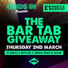 Quids in Bar Tab Giveaway At Viper!