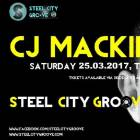 Steel City Groove Presents CJ Mackintosh - The Harley Sheffield