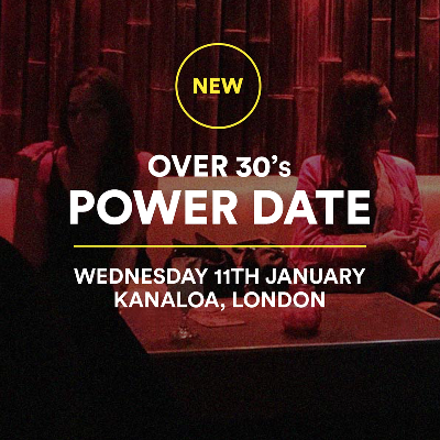 Over 30's British Asian Power Date, Meet and Mingle - London